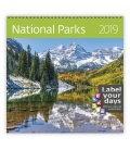 Nástěnný kalendář National Parks 2019