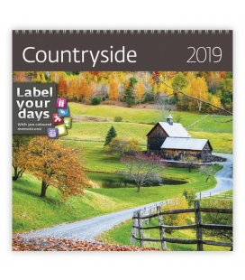 Wall calendar Countryside 2019
