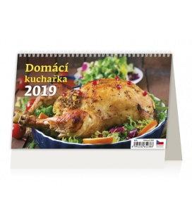 Stolní kalendář Domácí kuchařka 2019