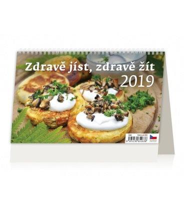 Table calendar Zdravě jíst, zdravě žít 2019