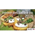 Stolní kalendář Zdravě jíst, zdravě žít 2019