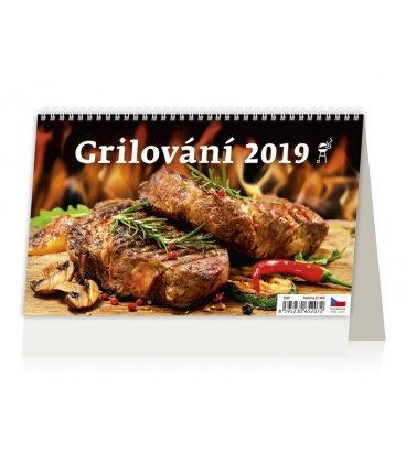 Table calendar Grilování 2019