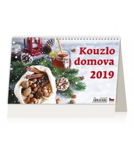 Tischkalender Kouzlo domova 2019