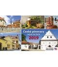 Table calendar České pivovary nejen na kole 2019