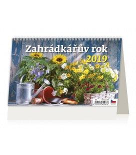 Table calendar Záhradkářův rok 2019