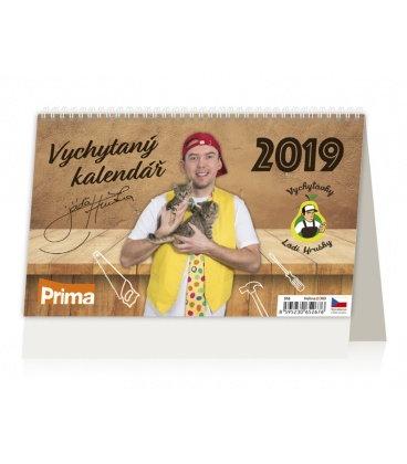Stolní kalendář Vychytávky Ládi Hrušky 2019