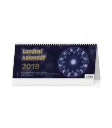 Stolní kalendář Lunární kalendář 2019