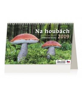 Table calendar Na houbách 2019
