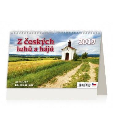 Table calendar Z českých luhů a hájů 2019