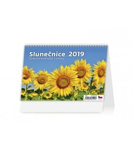 Stolní kalendář Slunečnice 2019