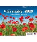 Table calendar Vlčí máky 2019