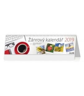 Table calendar Žánrový kalendář 2019
