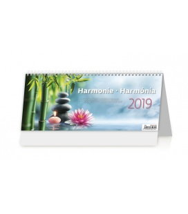 Table calendar Harmonie 2019