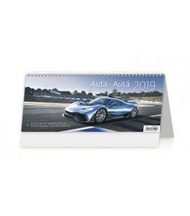 Tischkalender Auta/Autá 2019