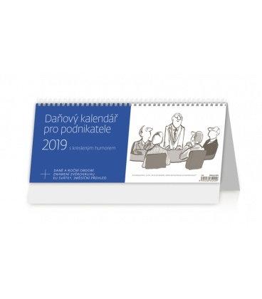 Stolní kalendář Daňový kalendář pro podnikatele 2019