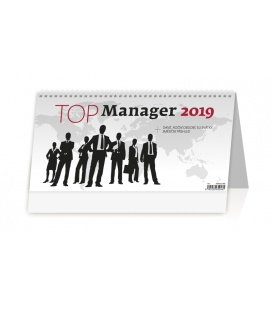Tischkalender Top Manager 2019