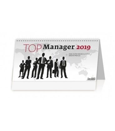 Stolní kalendář Top Manager 2019