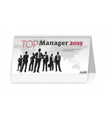 Table calendar Top Manager 2019