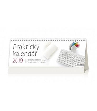 Stolní kalendář Praktický kalendář 2019