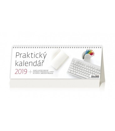 Table calendar Praktický kalendář 2019