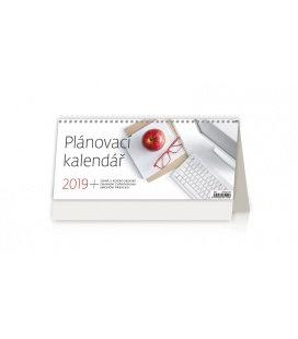 Stolní kalendář Plánovací kalendář 2019