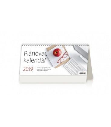 Table calendar Plánovací kalendář 2019