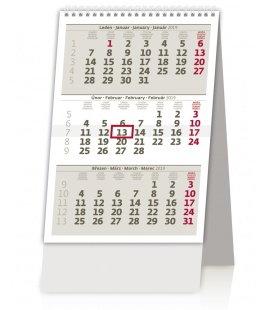 Stolní kalendář MINI tříměsíční kalendář/MINI trojmesačný kalendár 2019