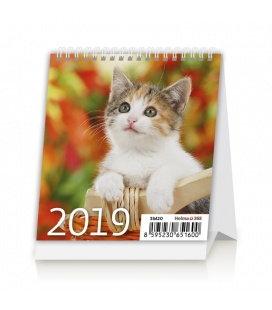 Tischkalender Mini Kittens 2019