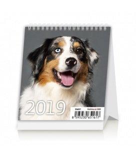 Tischkalender Mini Puppies 2019