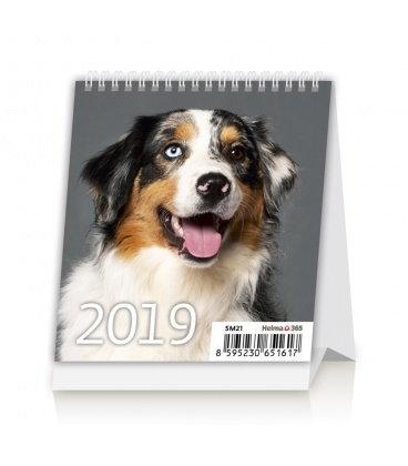 Stolní kalendář Mini Puppies 2019