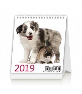 Tischkalender Mini Pets 2019