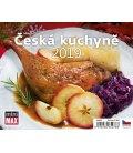 Table calendar Minimax Česká kuchyně 2019