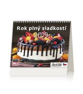 Table calendar Minimax Rok plný sladkosti 2019