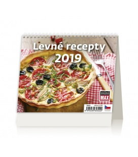 Table calendar Minimax Levné recepty 2019