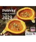 Stolní kalendář Minimax Polévky nejen k večeři 2019