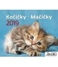 Table calendar MiniMax Kočičky/Mačičky 2019