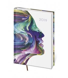 Daily diary A5 Vario - Face 2019