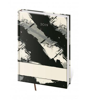 Weekly Diary A5 Vario - Grey 2019