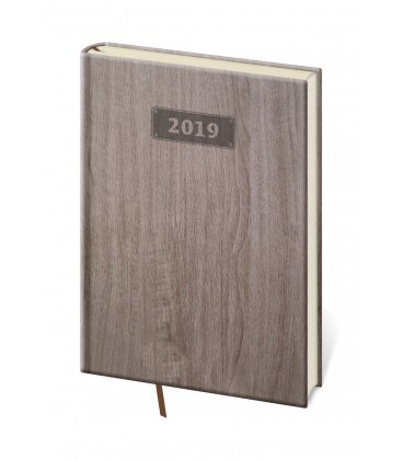 Daily diary A5 Wood 2019