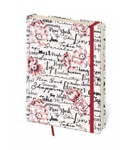 Notepad - Zápisník Vario design 7 - lined L 2019