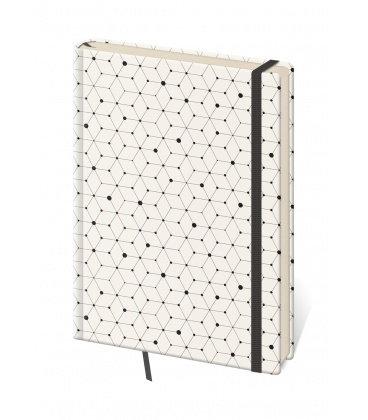 Notepad - Zápisník Vario design 5 - lined S 2019