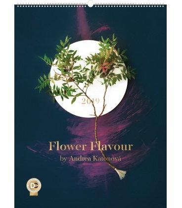 Nástěnný kalendář Flower Flavour – Andrea Katonová 2019