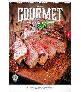 Wall calendar Gourmet 2019