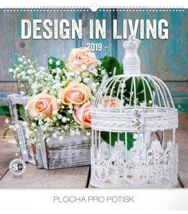 Wall calendar Design in Living 2019