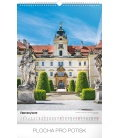 Wall calendar Castles and chateaux 2019