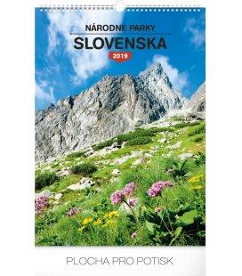 Wall calendar Národné parky Slovenska SK 2019