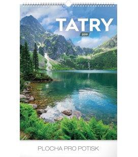 Wall calendar Tatras 2019