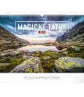 Nástěnný kalendář Magické Tatry 2019