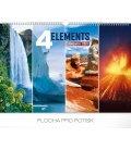 Wall calendar 4 Elements 2019