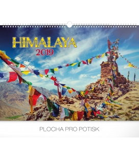 Wall calendar Himalaya 2019